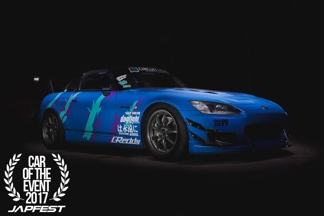 japfest car of the event